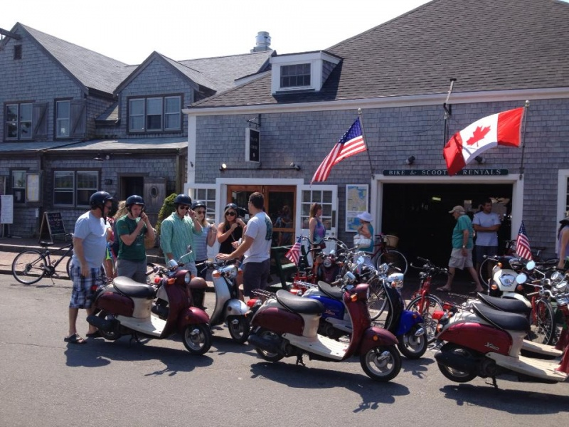 nantucket moped rentals & Scooters