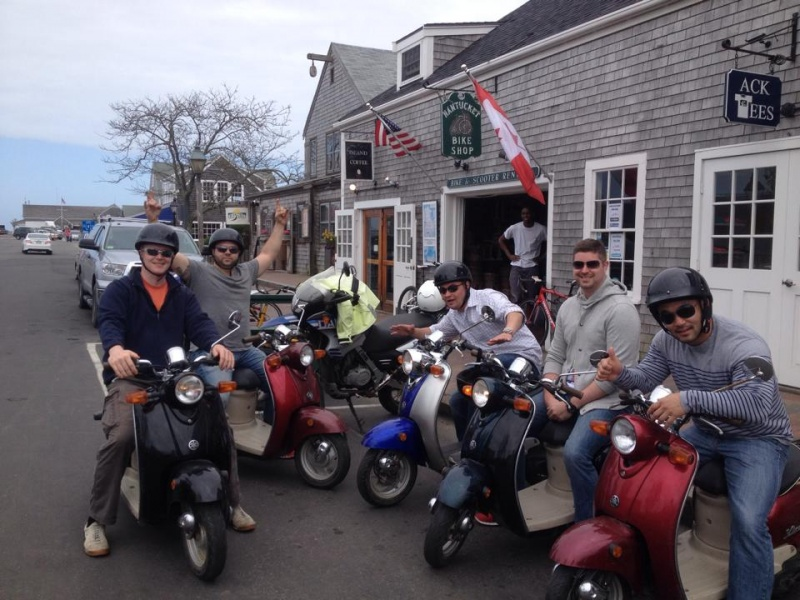 Nantucket Moped Rentals