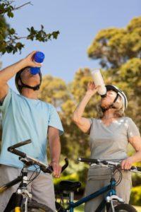 Bike Ride Water Break